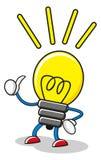 Sr. Idea stock de ilustración