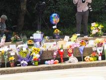 Sr. Lee Kuan Yew (16 09 1923-23 03 2015) Foto de archivo