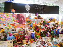 Sr. Lee Kuan Yew (16 09 1923 - 23 03 2015) Fotografia de Stock
