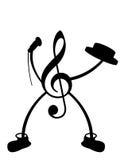 Sr. Música Foto de Stock Royalty Free