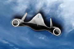 SR71 Magic Royalty Free Stock Photos
