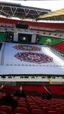 Sr. Modi no estádio de Wembley Fotos de Stock Royalty Free