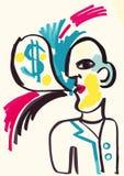 Sr. Money Foto de archivo libre de regalías