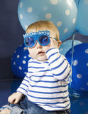 Sr. Wonderful Birthday Boy Fotografia de Stock Royalty Free