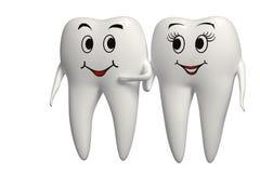 Sr. y señora Tooth Imagenes de archivo