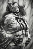 sra. Frankenstein está grávido fotos de stock royalty free