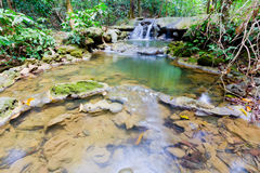 Sra Nang Manora Phangnga Nations-Waldwasserfallpark Lizenzfreie Stockfotos