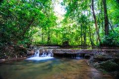Sra Nang Manora waterfall Royalty Free Stock Image