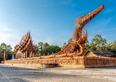 Sra Pra Sarn Sook Temple, Ubon Ratchathani Provinc Royalty Free Stock Photography