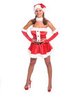 Sra. 'sexy' Claus fotos de stock royalty free