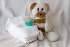Sraff de soin de bébé Photographie stock