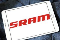 SRAM Korporation logo arkivfoto