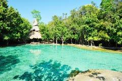 Sramorakot (Emerald Pool) Krabi Province Stock Image