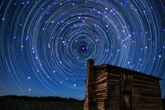 Srar-следы кометы Стоковая Фотография