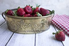 Srawberries Royalty Free Stock Images