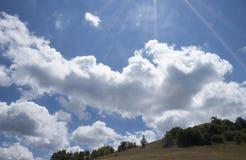 Srbiji-гора Povlen Planina Povlen u в Сербии Стоковое Фото