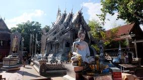 Srebna świątynia Zdjęcie Royalty Free