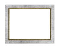 Srebna obrazek rama Fotografia Stock