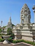 Srebna pagoda Obraz Royalty Free