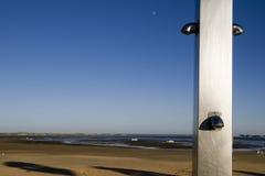 Srebna prysznic Zdjęcia Stock