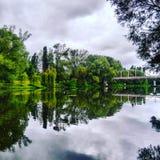 Srebna rzeka Zdjęcia Royalty Free