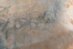 Srebna tekstura brudna i narysu tło Obrazy Royalty Free