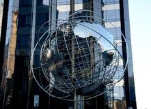 Srebna Ziemska kula ziemska w Kolumb, Nowy Jork - obraz stock