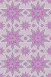 srebne purpur gwiazdy Obraz Royalty Free