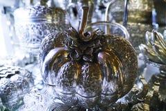 Srebne rzeczy, biżuteria i klejnoty przy Środkowym rynkiem, KAMBODŻA zdjęcie royalty free