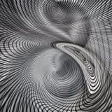 Srebnego ślimakowatego circualr nowożytny futurystyczny kruszcowy tło ilustracja wektor