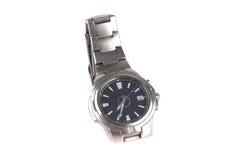 srebni samiec zegarki zdjęcia stock