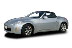 srebni samochodów sporty Obraz Royalty Free