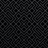 Srebny abstrakcjonistyczny geometryczny deseniowy tło z błyskotliwości siatki teksturą Wektorowy bezszwowy ozdobny geometria wzór Zdjęcie Royalty Free