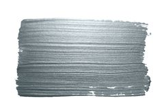 Srebny błyskotliwości farby muśnięcia uderzenia lub abstrakt odrobiny rozmaz z smudge teksturą na białym tle dla luksusowego kart Zdjęcie Stock