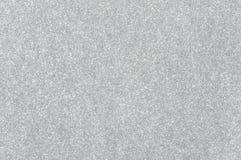 Srebny błyskotliwości tekstury tło Obrazy Royalty Free