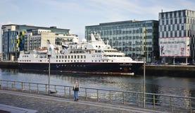 Srebny badacz, Dublin Zdjęcie Royalty Free