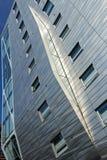 Srebny budynek Obraz Stock