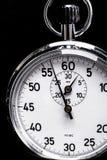 Srebny chronometru przedmiot Obraz Stock