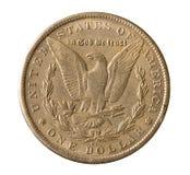 Srebny dolar Zdjęcia Stock