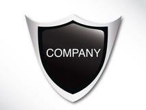 srebny emblemata szablon Zdjęcia Royalty Free