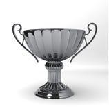 srebny filiżanki trofeum Obrazy Stock