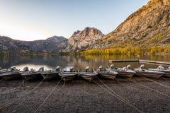 Srebny jezioro Fotografia Royalty Free