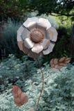 Srebny kwiat Obraz Royalty Free
