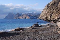 Srebny plażowy Balaclava Fotografia Royalty Free