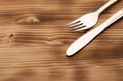 Srebny Tableware Zdjęcie Stock