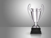 Srebny trofeum zdjęcie stock