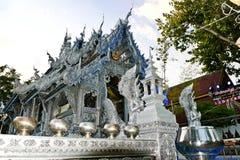 Srebny Ubosot Wata Sri Suphan Chiang Mai's srebra świątynia Zdjęcia Royalty Free