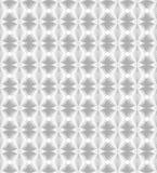 Srebny wzór z stylizowanymi kwadratami Zdjęcie Royalty Free