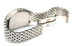 srebny zegarek Zdjęcia Royalty Free