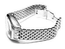 srebny zegarek Fotografia Stock